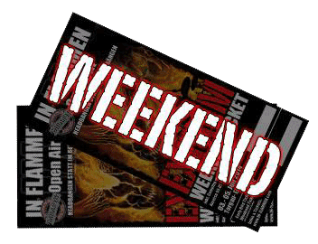 Weekend Ticket 2014