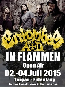 ENTOMBED-AD live at IN FLAMMEN Open Air 2015