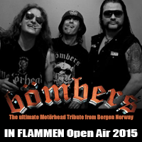Bömbers @ IN FLAMMEN Open Air 2015