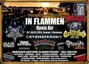 IN FLAMMEN Open Air 2015